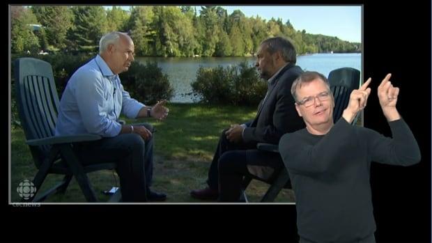 Mansbridge 1x1 Tom Mulcair ASL