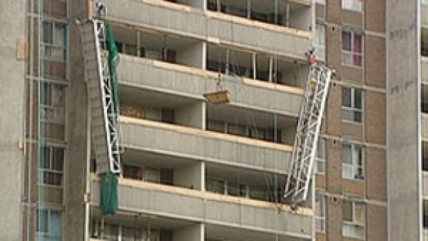 Four died in the Dec. 24, 2009, collapse. (CBC)