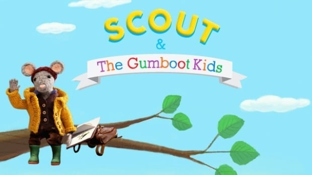 Scout and the Gumboot Kids has a message to kids and parents alike: turn the TV off and go outside!