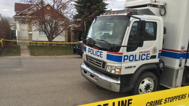 Calgary police say two bodies found in a home in Coventry Hills are now being investigated as homicides.