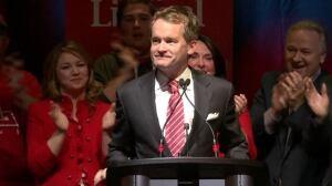 Seamus O'Regan in St. john's for election
