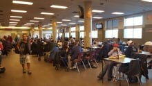 drop-in centre caf