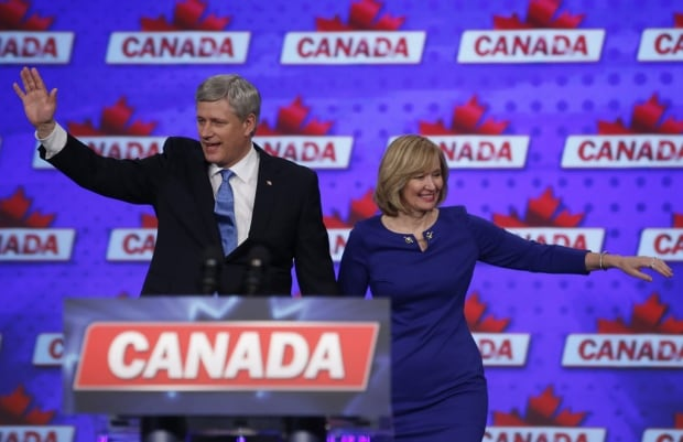 Harper Laureen supporters