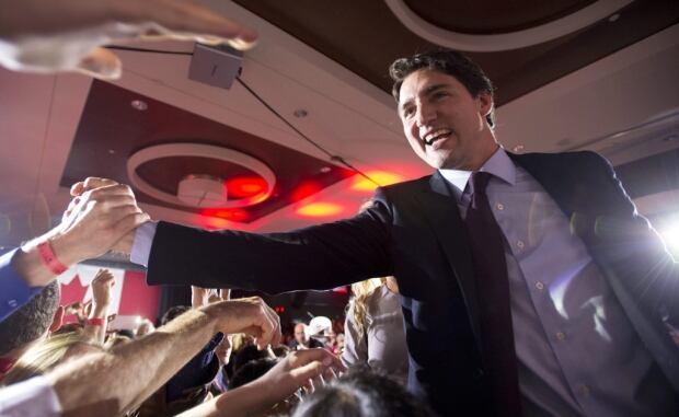 Trudeau crowd