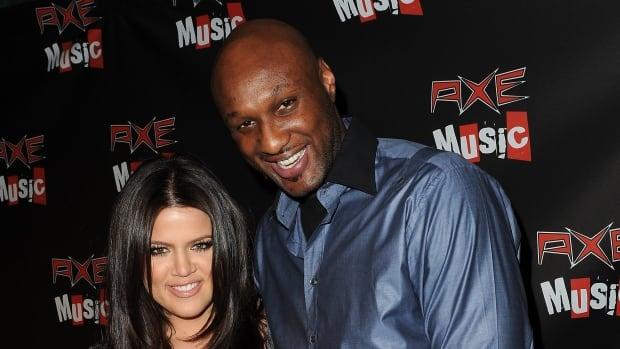Former NBA star Lamar Odom is seen here in September 2010 with his estranged wife Khloe Kardashian.