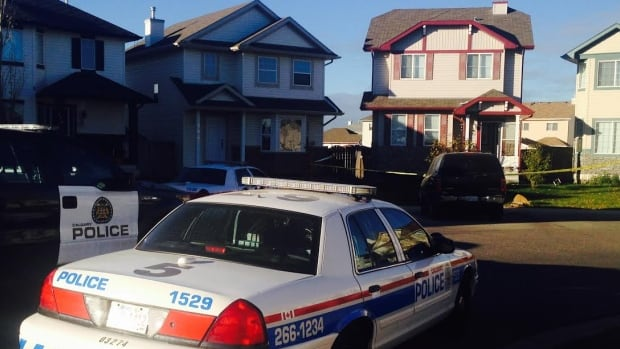 A woman was taken to hospital in critical condition after she was stabbed in northeast Calgary on Tuesday morning.