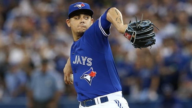 Roberto Osuna recorded 20 saves in 23 chances as a rookie last season.