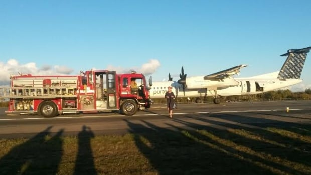The passenger has made an emergency landing Monday afternoon after smoke began to fill the cabin of the plane.