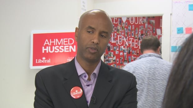 Lawyer and activist Ahmed Hussen became Canada's first-ever MP of Somali descent when he won the riding of York South-Weston Monday night.