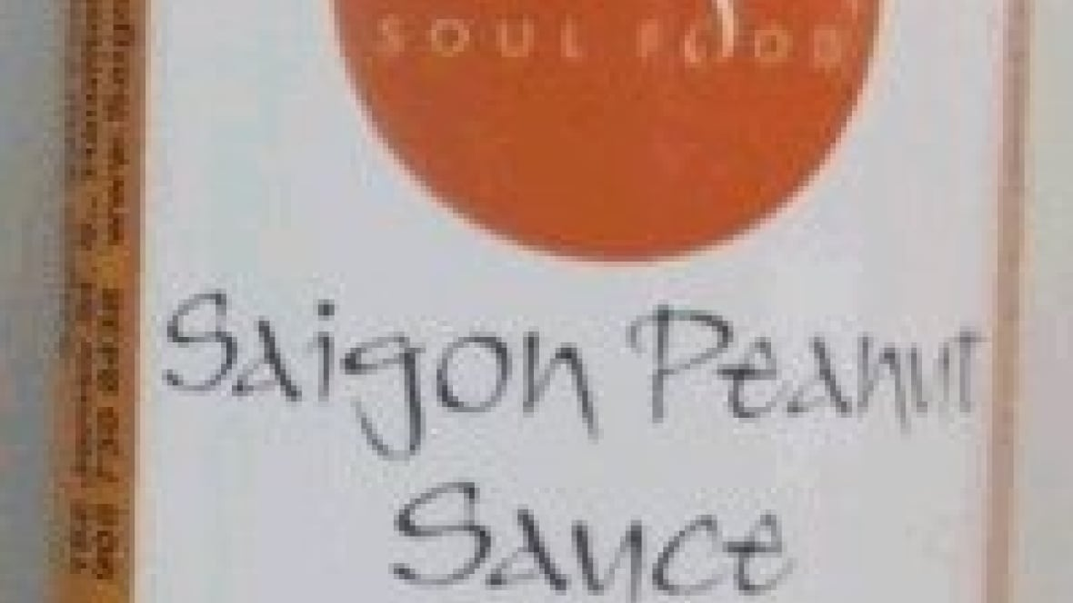 Peanut sauce recalled due to bacteria that could cause botulism