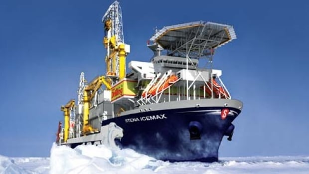 Stena IceMAX, Shell oil drilling ship off Nova Scotia