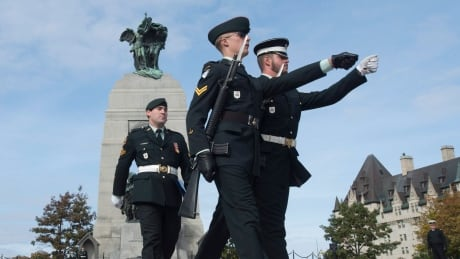 Parliament Hill Shooting Memorial Oct 21 2015 guard change ceremony