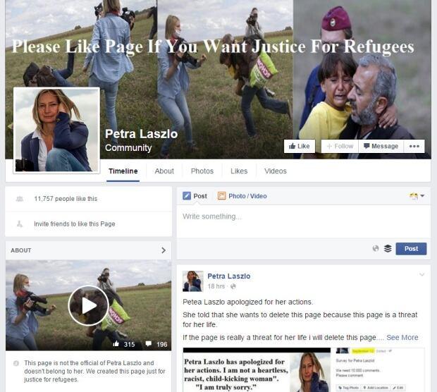 Petra Laszlo Facebook group