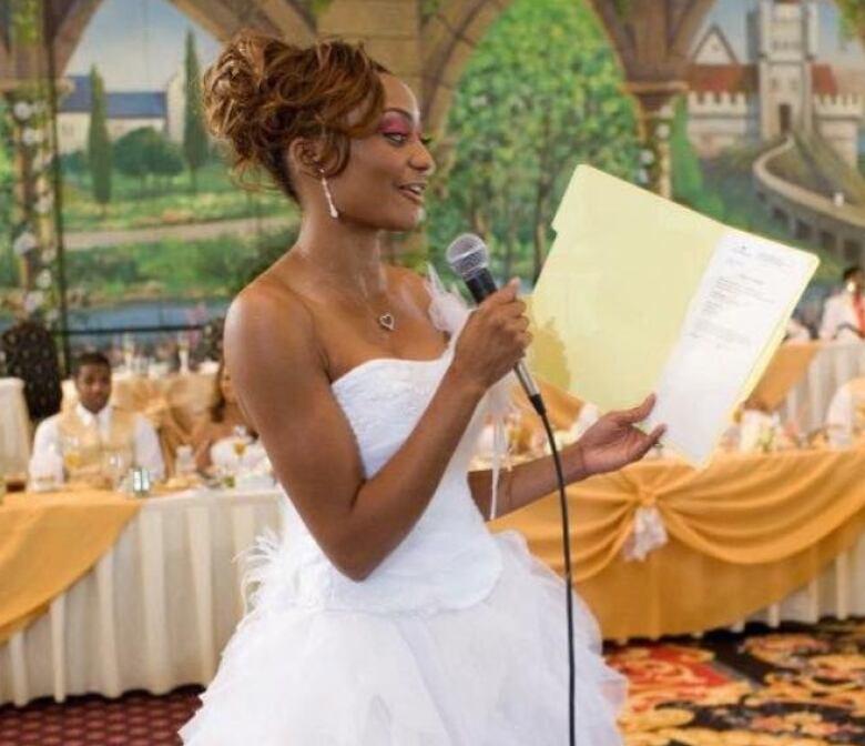 Virgin Bride Presents Certificate Of Purity To Dad At Wedding
