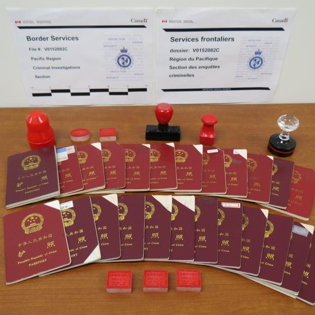 Fake Chinese passports
