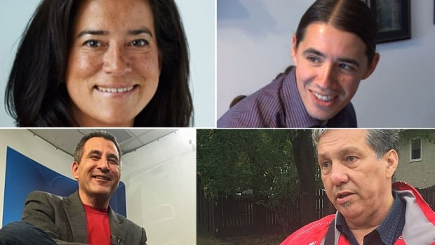 Prime minister-designate Justin Trudeau has several aboriginal MPs in his caucus to consider when building his cabinet, including (clockwise from upper left): Jody Wilson-Raybould, Robert Falcon-Ouellette, Dan Vandal and Hunter Tootoo.