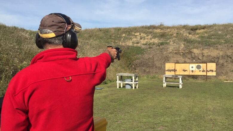 Spruce Grove Gun Club Shooter
