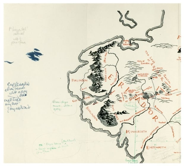 Tolkien Annotated Map 2