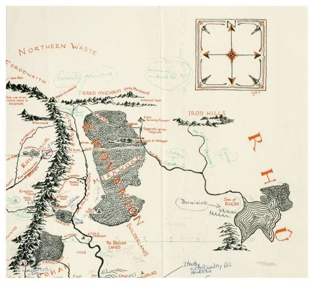 Tolkien annotated map 3