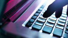 Computer closeup