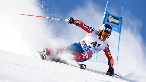 American Ted Ligety is the reigning world and Olympic champion in the men's giant slalom.