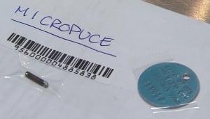 pet microchip implant