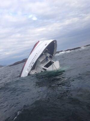 MV Leviathan submerged Albert Titian