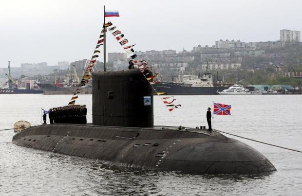 Varshavyanka class submarine
