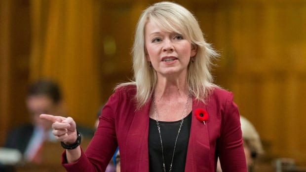 Minister of State (Social Development) Candice Bergen is joining the race for interim leadership of the Conservative Party.
