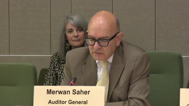 Alberta's auditor general, Merwan Saher, says a new cash management system will cost money but will create savings down the road.