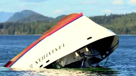 image of tofino whale watching boat crash