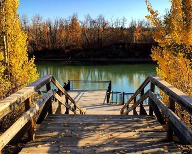 YEG Today, Edmonton river valley steps