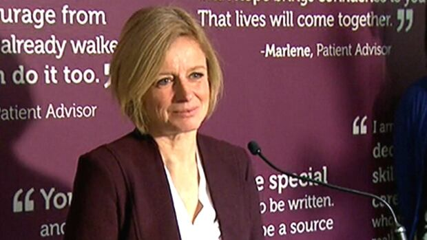 Alberta Premier Rachel Notley says a new cancer centre will be built at the northeast corner of the Foothills hospital campus.
