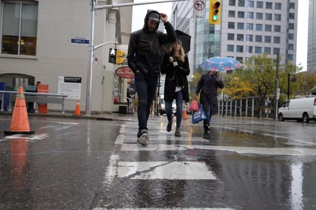 Pedestrian safety Toronto