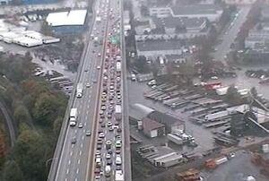 Alex Fraser Bridge traffic