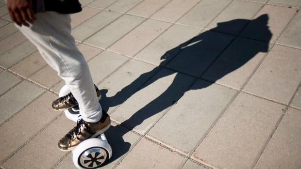 Good luck finding somewhere to wheel your hoverboard in Calgary. It's not allowed on roadways, sidewalks or in parks.