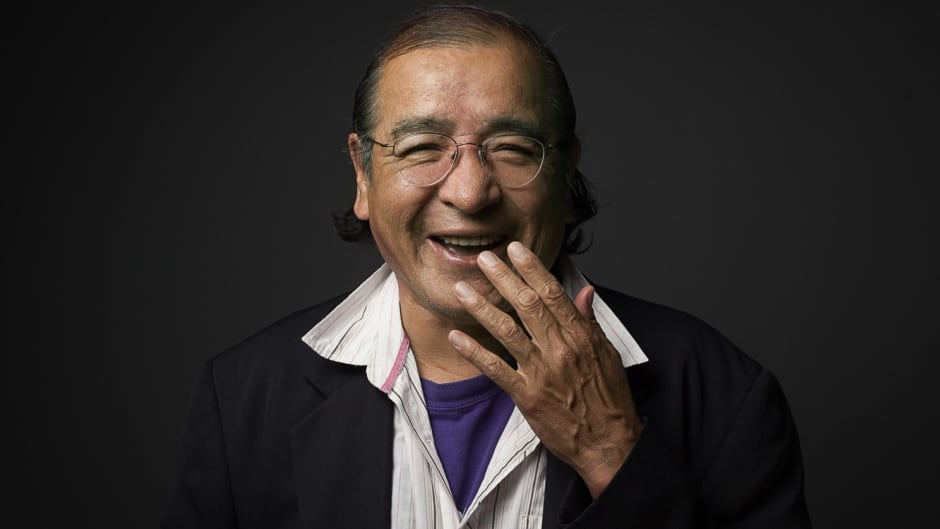 """I'm a very happy man and so I wanted to write about happy things,"" says Tomson Highway."