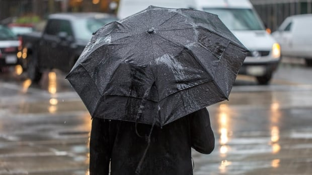 About 40-60 mm of rain is expected to fall through Sunday.