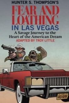 Troy Little's Fear and Loathing in Las Vegas cover