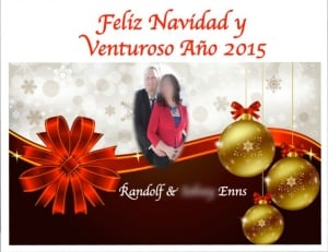 Randolf New Year's greetings