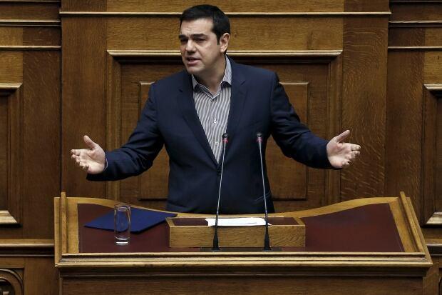 EUROPE-MIGRANTS/GREECE-TSIPRAS