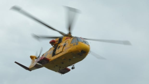 RCAF Cormorant helicopter