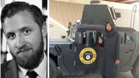 VICE journalist Ben Makuch and alledged ISIS fighter Farah Mohamed Shirdon