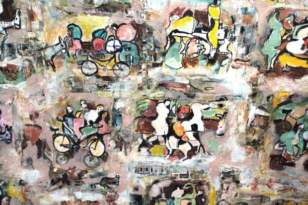 Hasan Abdalla bright painting