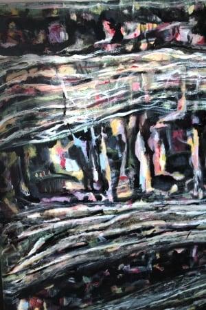 Hasan Abdalla dark painting