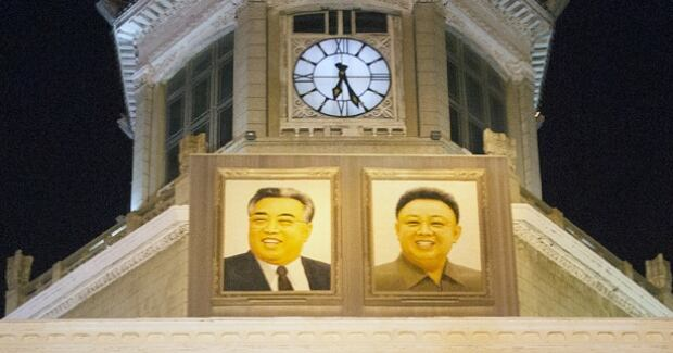 Pyongyang train station