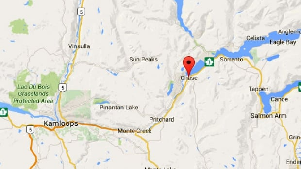 highway 1 reopened near chase  b c  after rock slide