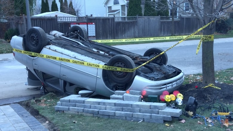 Halloween Yard Display Draws Police Attention In Barrhaven Cbc News