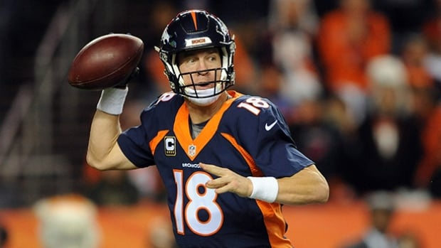 Peyton Manning is 11-13 in the playoffs over his 18-year career.