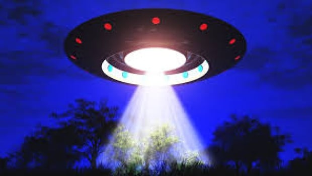 This UFO was not spotted over Nanaimo on Wednesday night.
